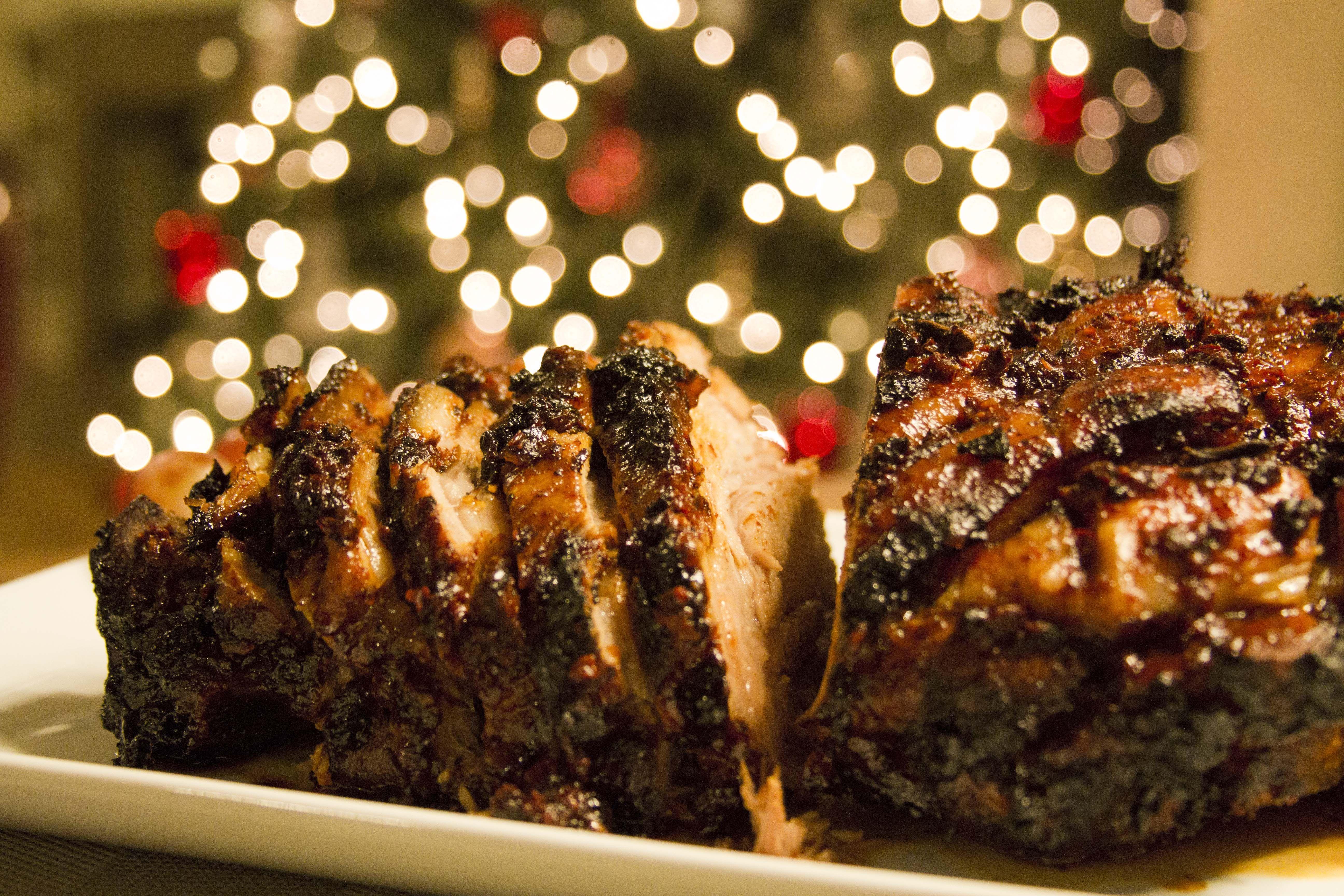 Pierna de cerdo adobada receta recetas de pierna pavo for Cenas sin cocinar