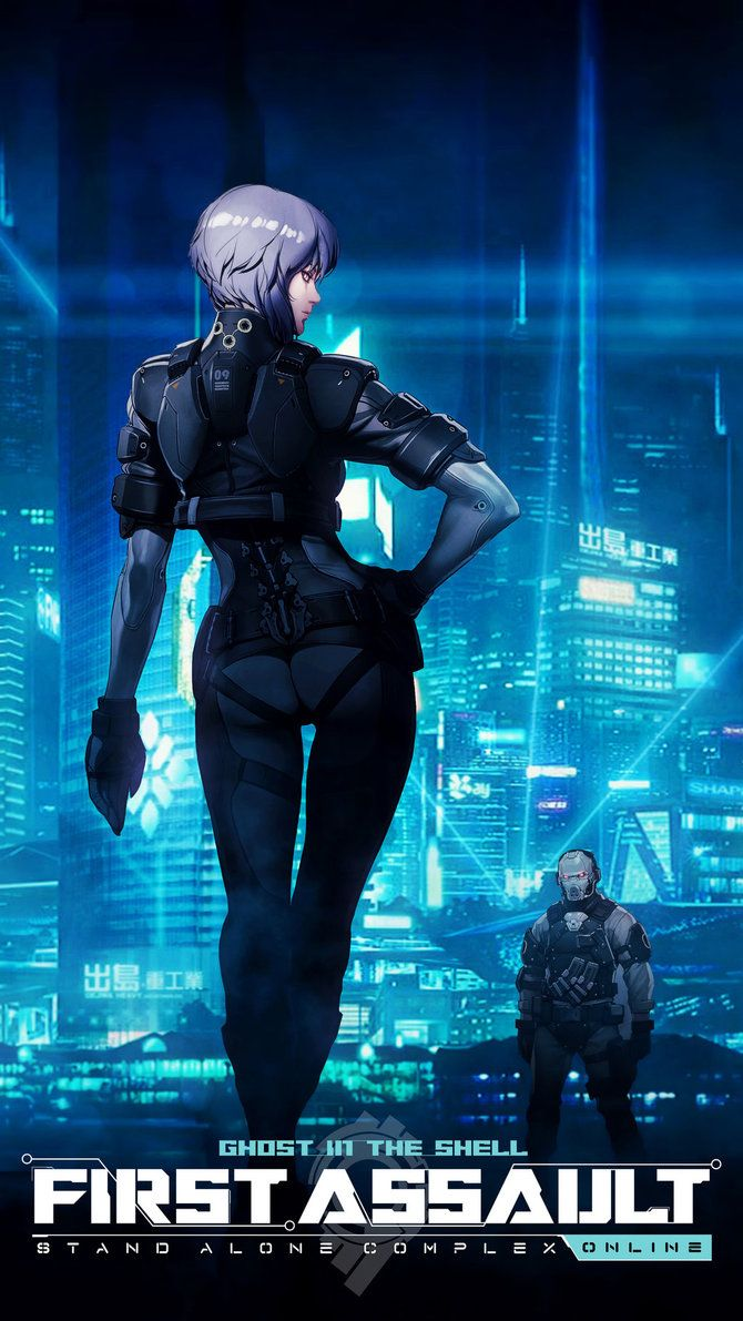 Gits First Assault Motoko Mobile Wallpaper By Kvacm In 2020 Ghost In The Shell Anime Ghost Ghost