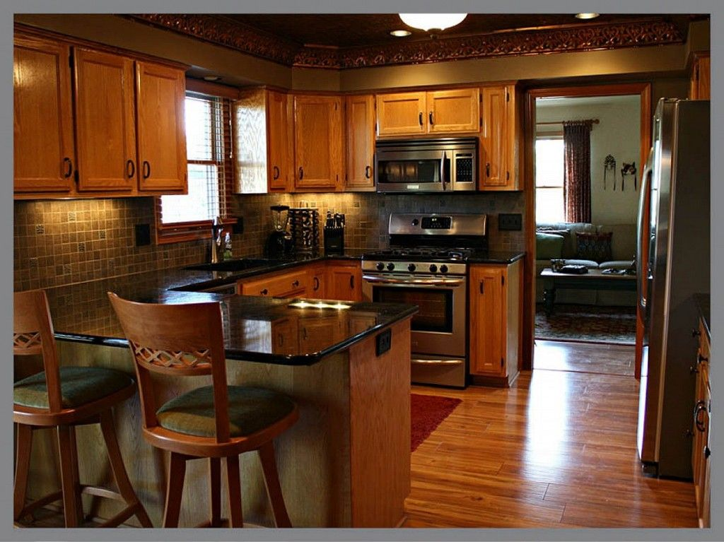 Kitchen remodeling ideas of 75 kitchen remodeling ideas for Kitchen improvements