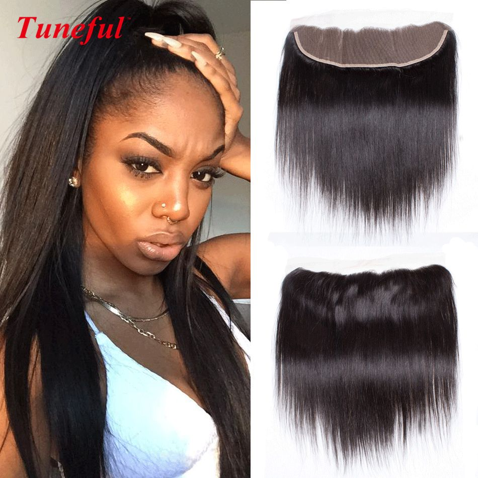 lace frontal ear to ear straight