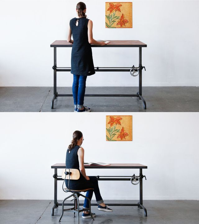 7 Standing Desks For Small Home Offices Small Home Offices Small Home Office Small Vintage Desk