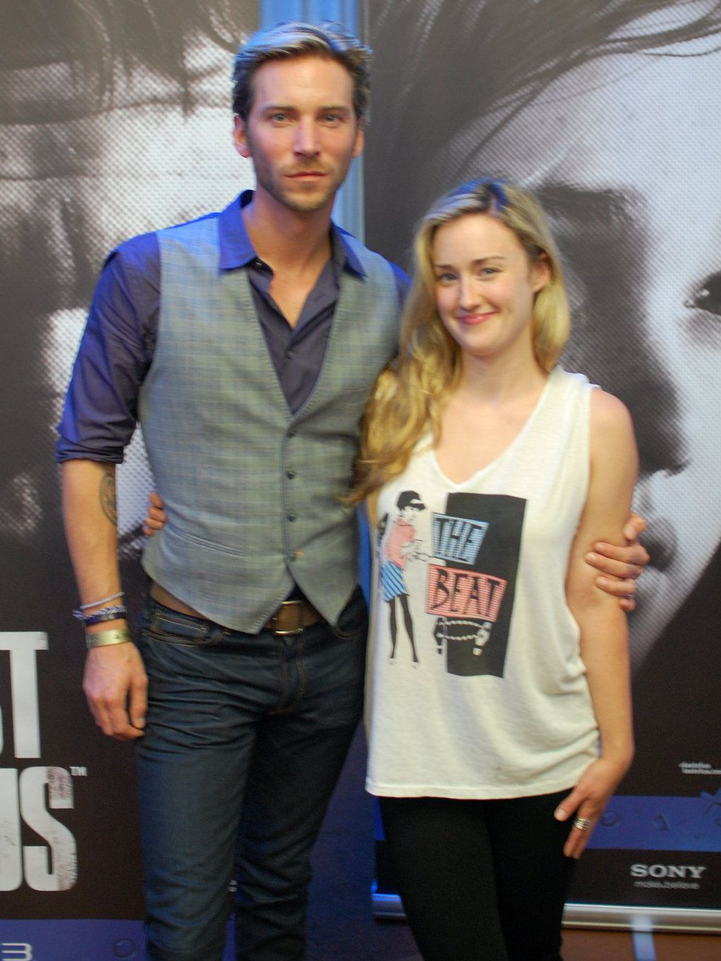 The Beautiful Stars Of The Last Of Us Troy Baker And Ashley