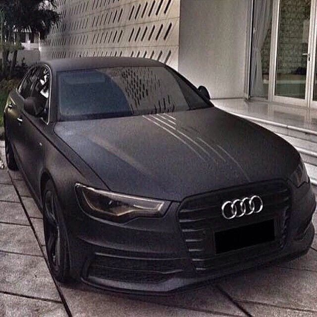 High End Luxury Cars Audi: All Black Audi (With Images)