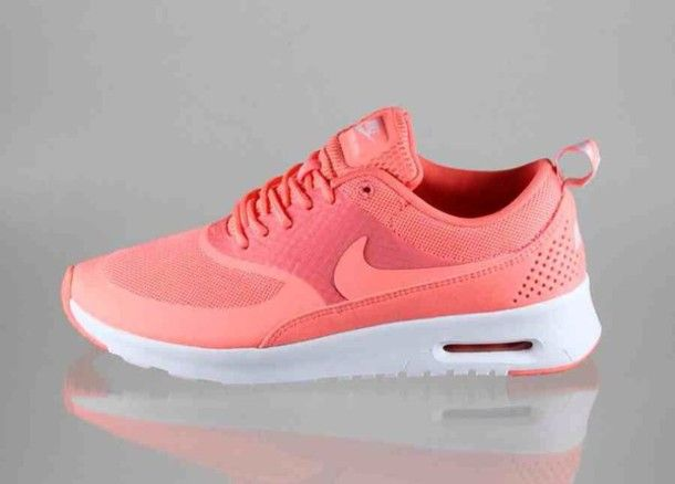 Shoes: air max, peach, girl, girls sneakers, trainers, nike
