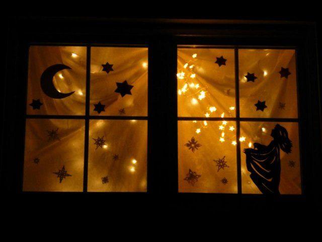 3 adventsfenster 2013 adventsfenster pinterest - Adventsfenster gestalten ideen ...