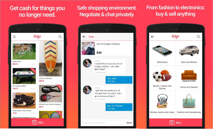 Startups To Watch Letgo Another Carousell Competitor Is Here In