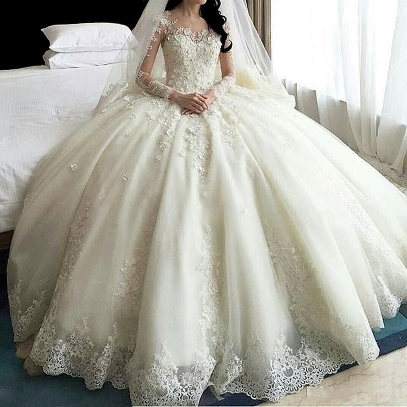 Cheap Bridal Dress Buy Quality Ball Gown Wedding Dresses Directly From China Wedding Dress Supp In 2020 Sheer Wedding Dress Ball Gown Wedding Dress Ball Gowns Wedding