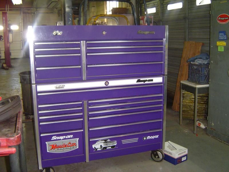 Mopar Snapon Musclecar Series Toolbox Cool Tools