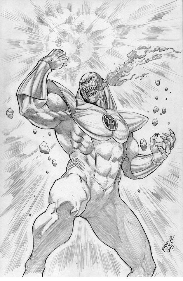 Atrocitus Red Lantern By Refineib73 On Deviantart Comic Book Artwork Character Art Comic Drawing