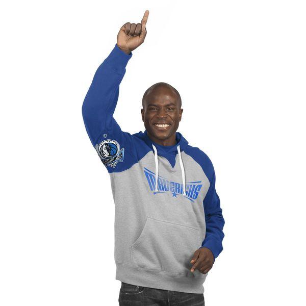 Dallas Mavericks Hands High Pullover Hoodie - Gray - $49.99