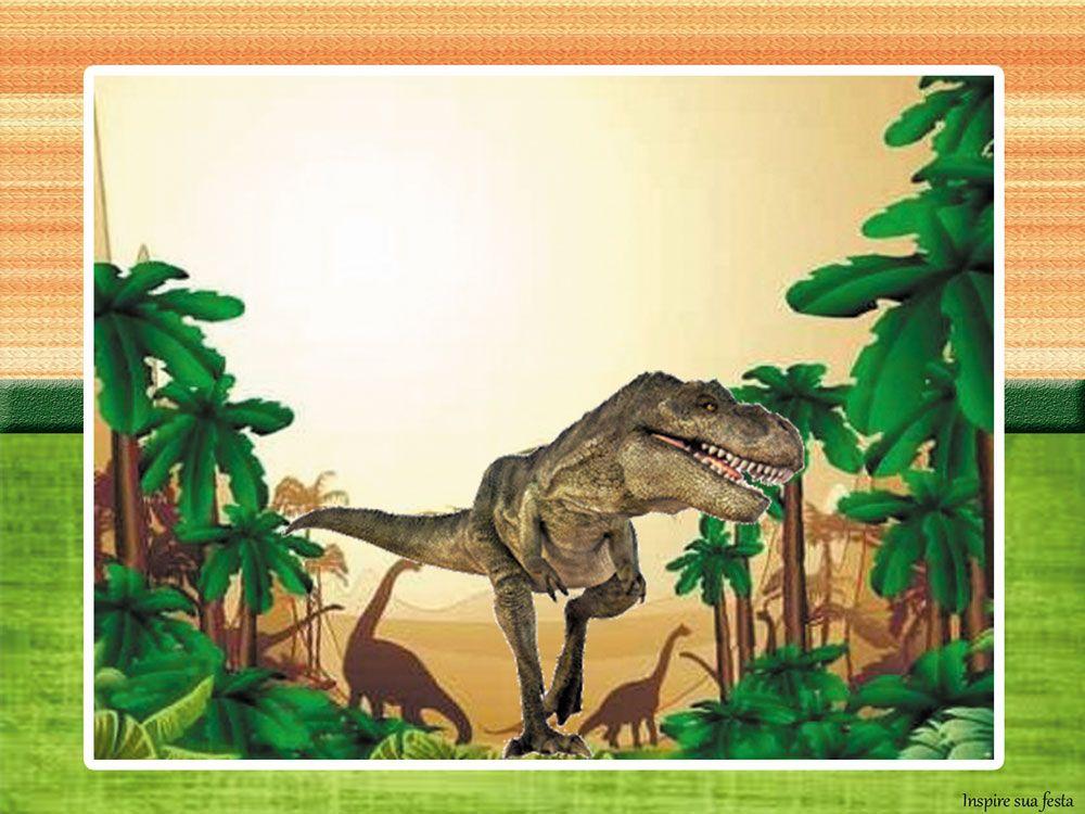 Dinossauros Reais Kit Digital Gratuito Convites De
