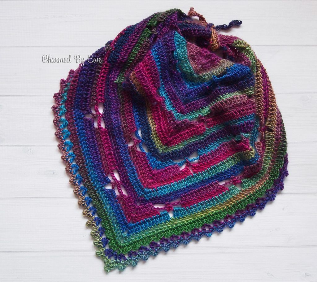 Free Knitting Patterns For Beginners Baby Blanket : Free Crochet Pattern: Dragonfly Bandana Scarf Crochet & Knit Pinteres...