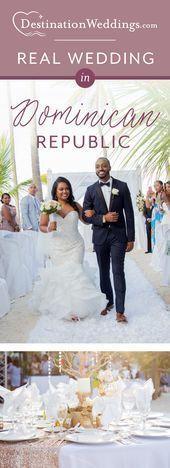 Michelle Erskins Hochzeit In Punta Cana Dominikanische Republik Cana Destinatio Amp Artdecoweddinginvitat In 2020 Punta Cana Hochzeit Glamourose Hochzeit