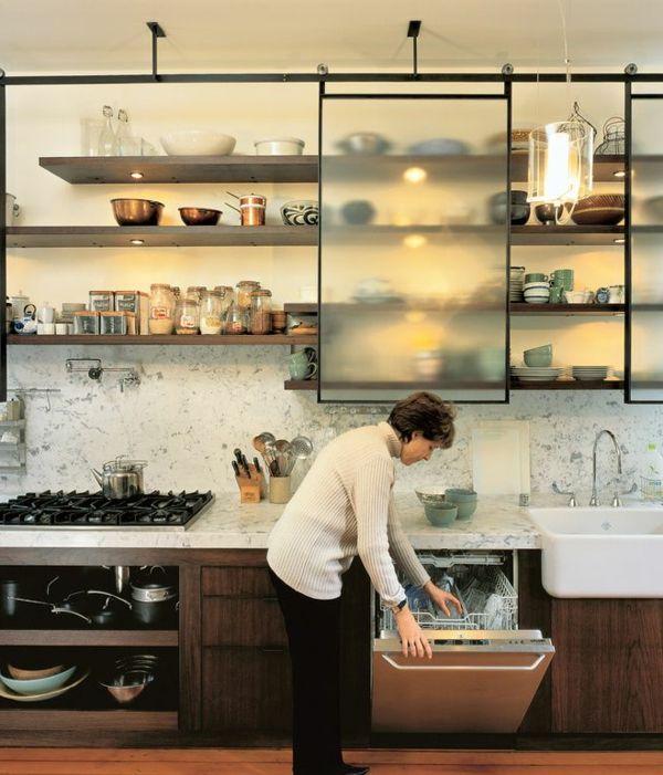 Comment choisir la plus belle porte vitr e cuisine Porte de cuisine vitree
