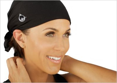 The Save your Do read wrap protects your hair from sweat during your workouts! Nicole Ari Parker is the spokeswoman. Hmmm.. I love outdoor workouts, so I'l be sure to try it when my hair is straight!