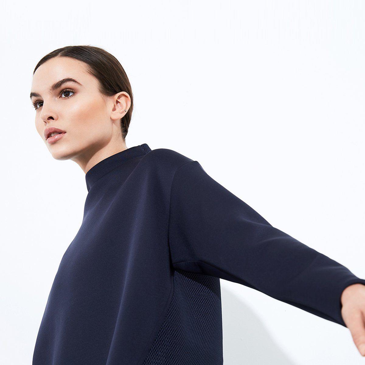 Like A Boss Sweatshirt Women S Sweatshirt Aday Sweatshirts Women Neck Curve Sweatshirts [ 1200 x 1200 Pixel ]