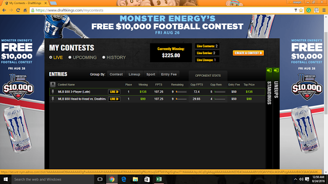 Playing The Tuttle Way: Do You Play Nightly at Draftkings? If So, Read Thi...