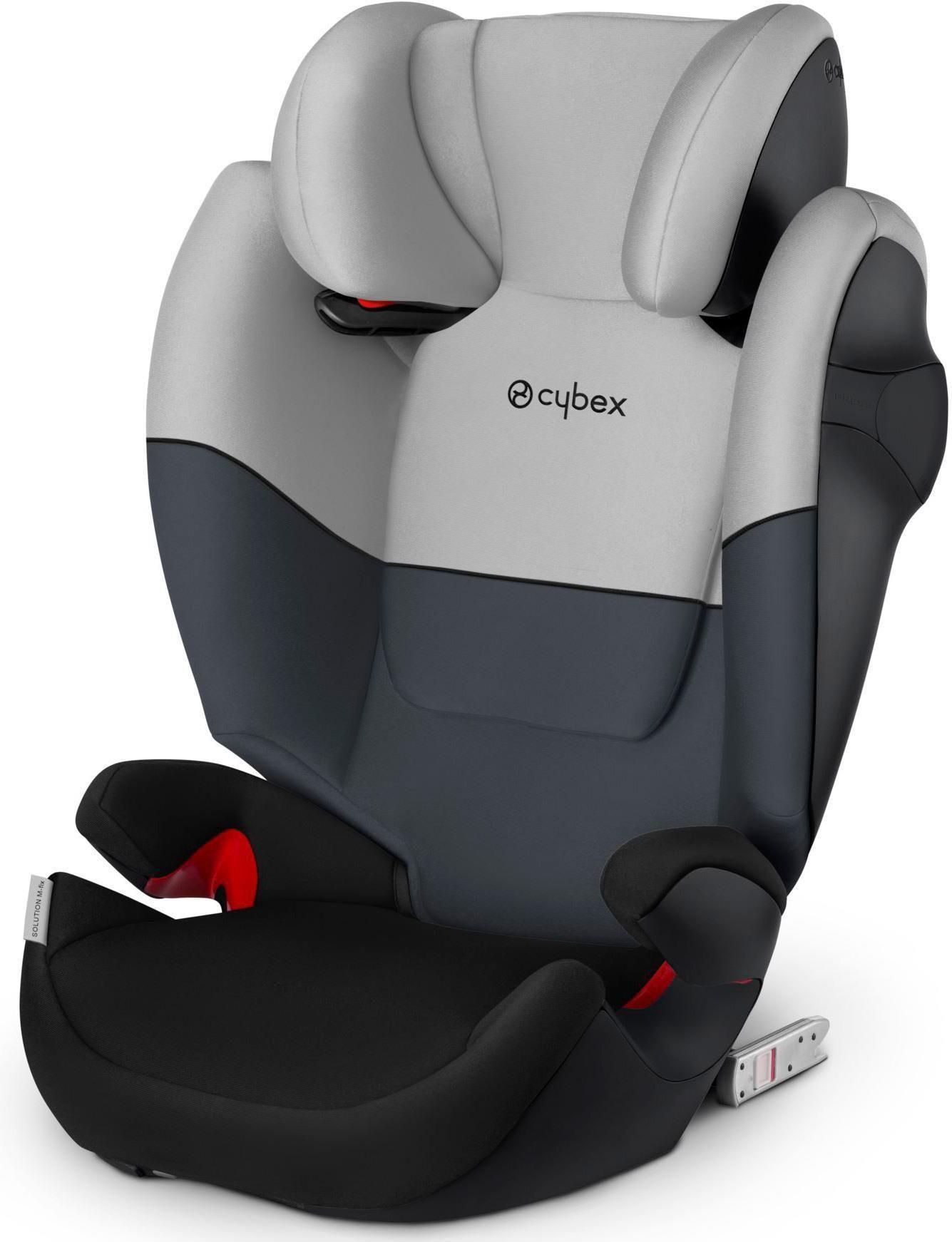 Cybex Solution M Fix Group 23 Car Seat Cobblestone In 2020 Car Seats Car Baby Car Seats