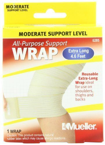 Mueller Sports Medicine Care Extra Long All-Purpose Support Wrap Model: 6285 * To view further for this item, visit the image link.