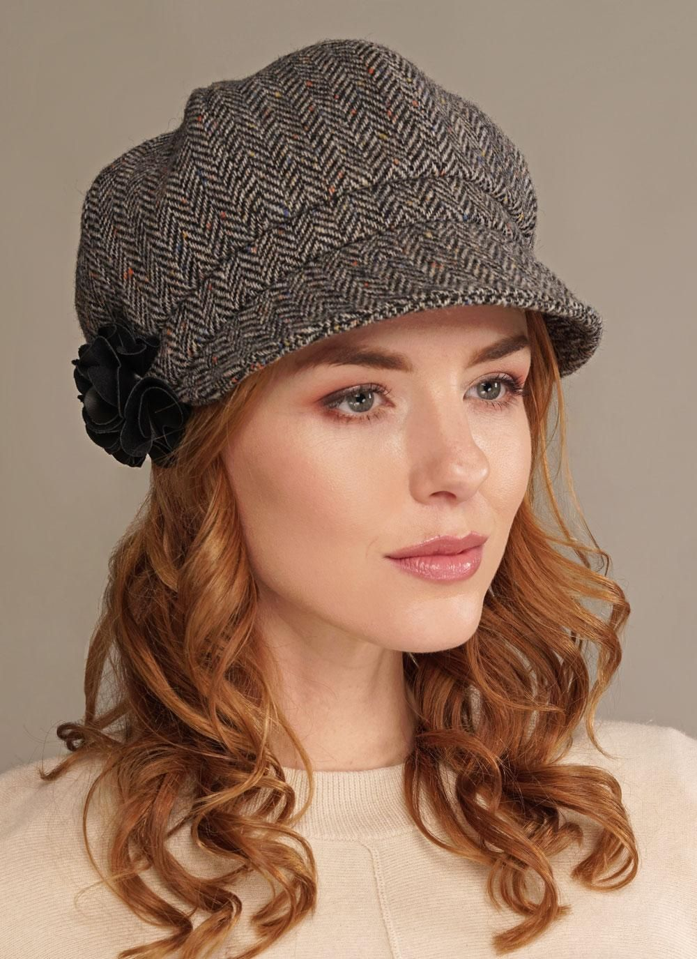 3d16ce03a84 Mucros Newsboy Hat  For over thirty years Mucros weavers have produced  quality woven accessories at their studio near Muckross House in Killarney.