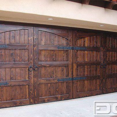 Shop Mediterranean Products On Houzz Garage Doors Wooden Garage Doors Wood Garage Doors