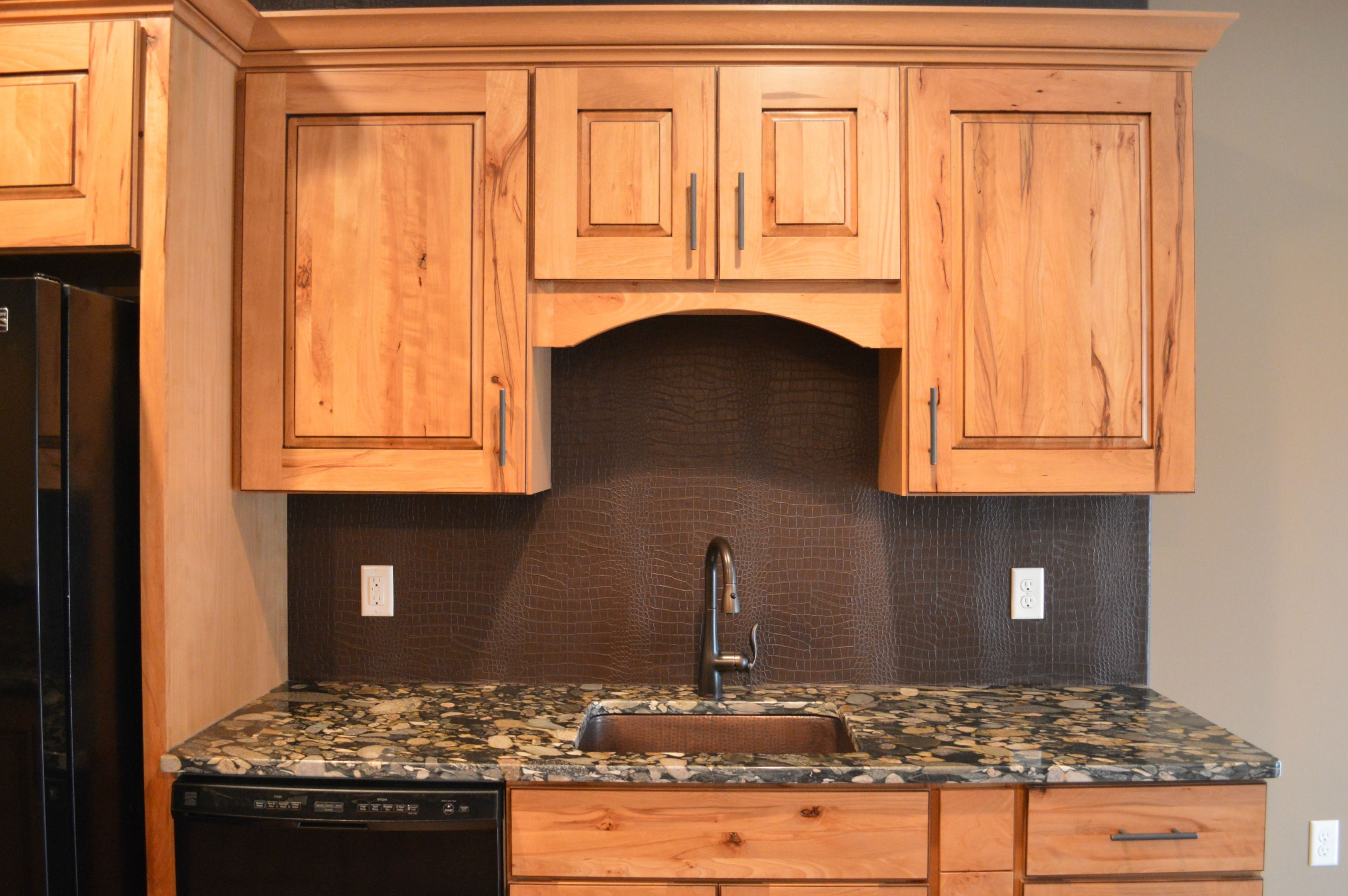 Raised Panel Cypress Cabinets And Granite Tops Granite Tops Kitchen Kitchen Cabinets