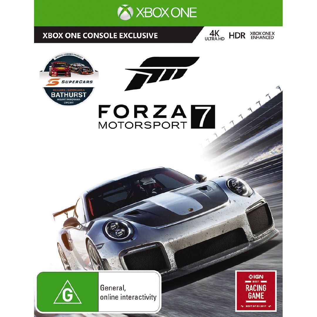 XboxOne Forza 7 Xbox one games, Forza motorsport, Xbox one