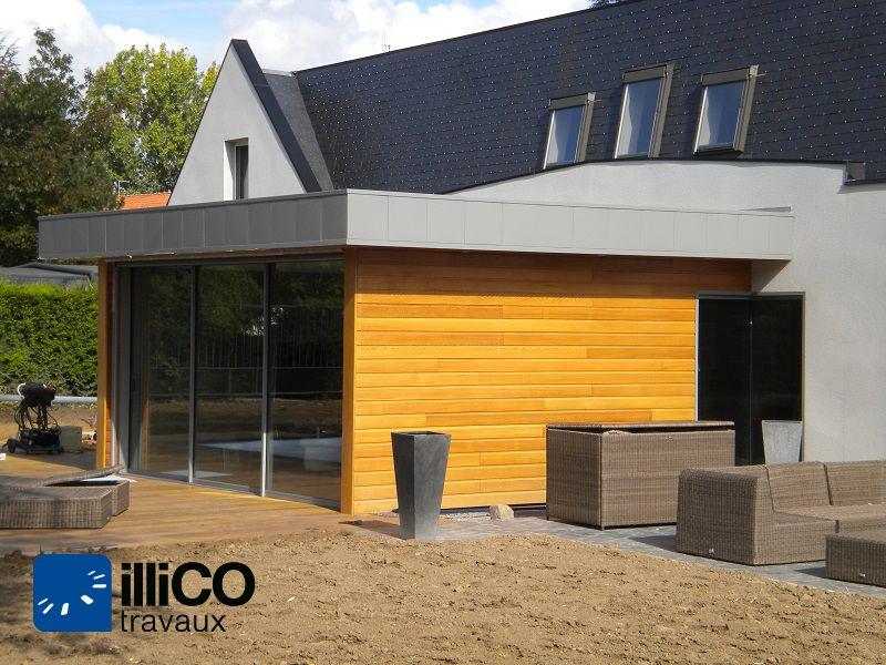 Agrandissement d\u0027une maison à #Douai   wwwillico-travaux