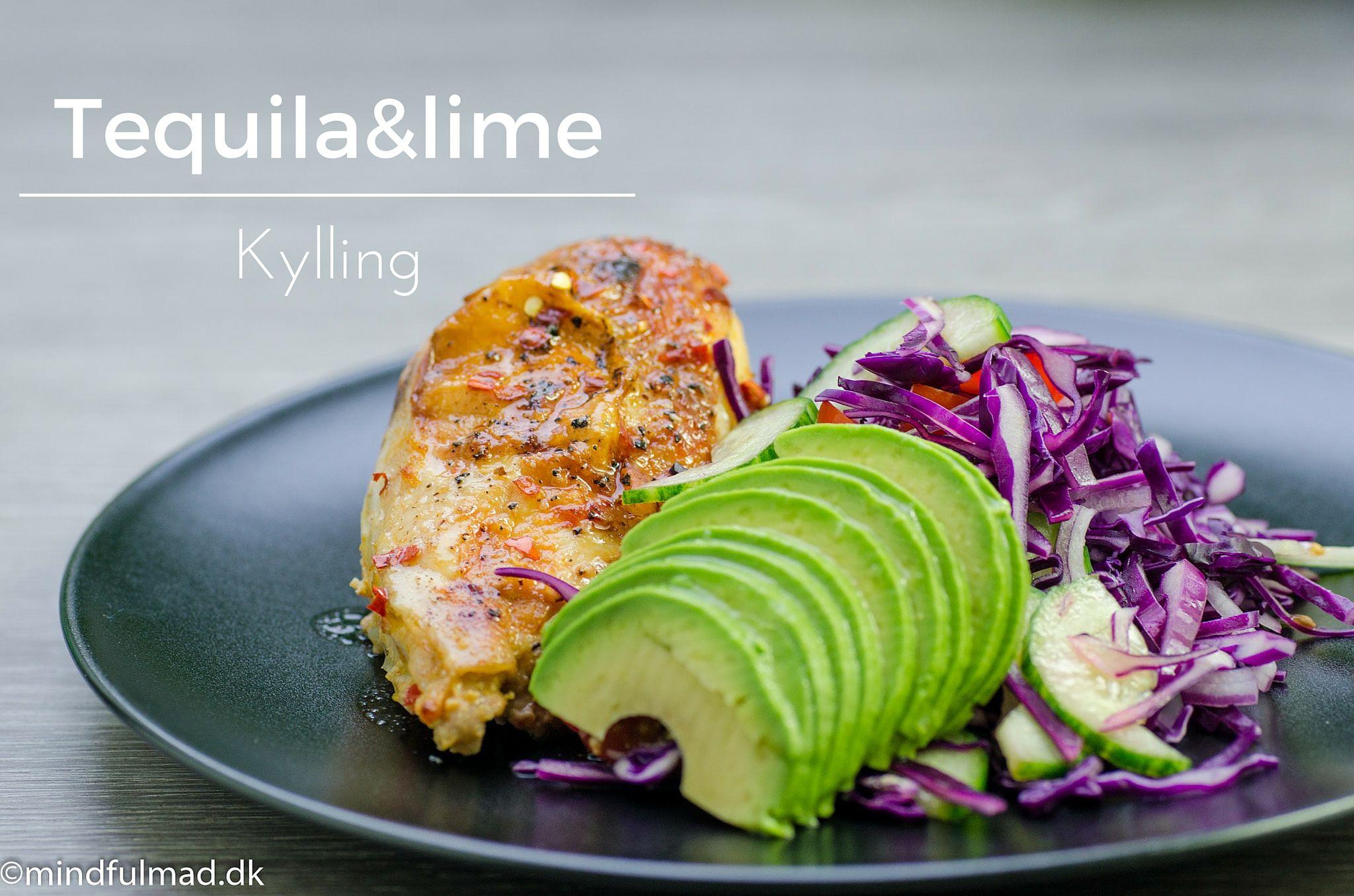Dette er en virkelig fræk opskrift på tequile og lime kylling, som suger den friske syrlige smag til sig og bliver fantastisk mør.