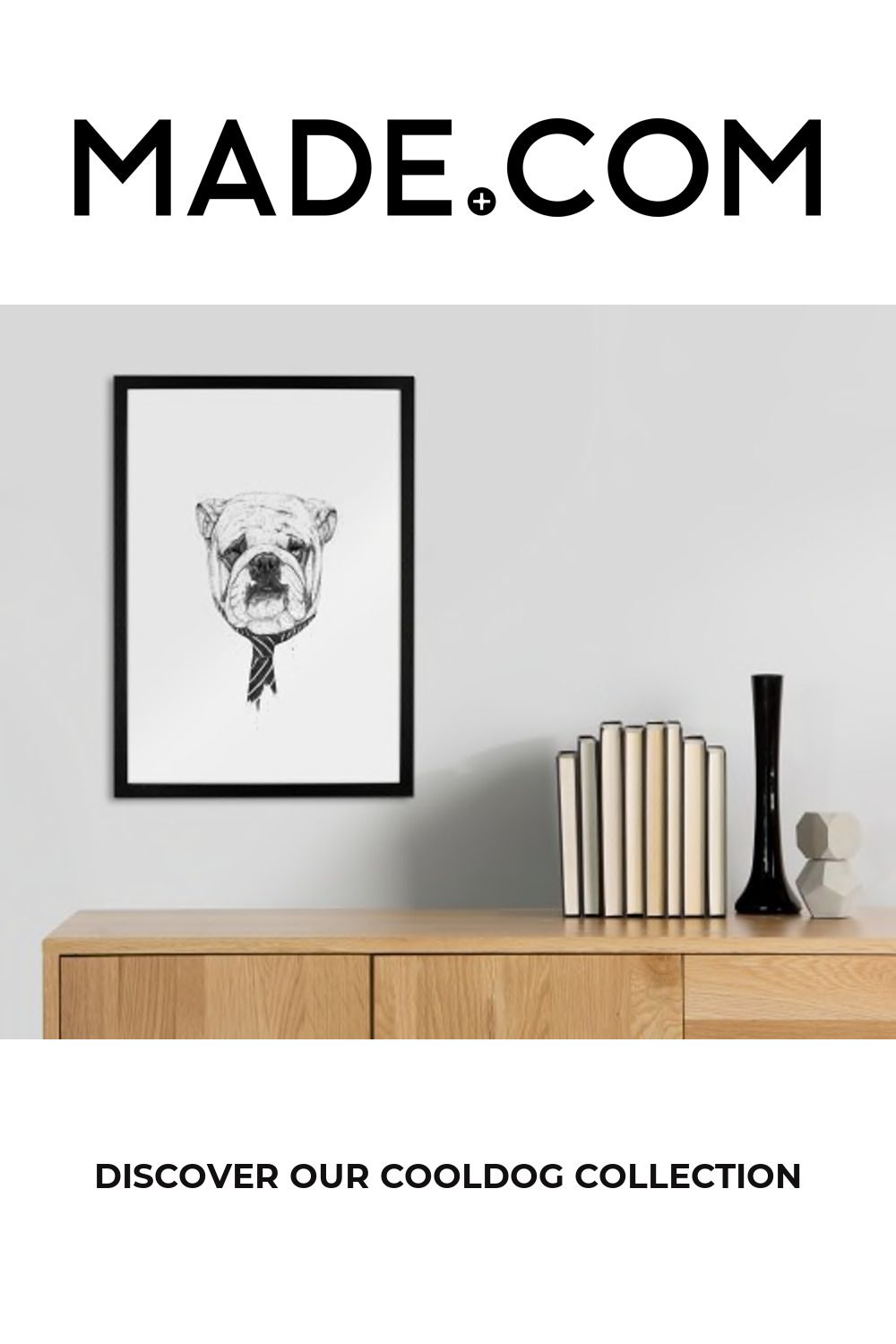 Cooldog by Balazs Solti, 30 x 40cm Wall Art Print