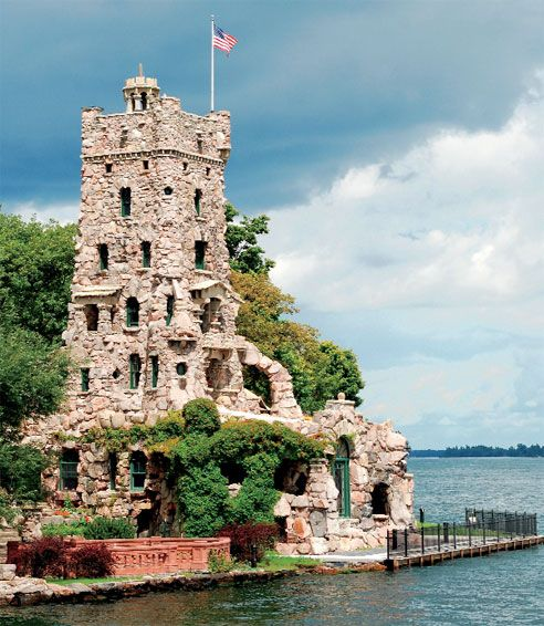 For The Romantic: Boldt Castle In New York