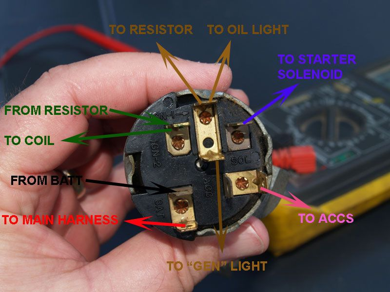 Chevy Ignition Switch Wiring Schematic Diagram