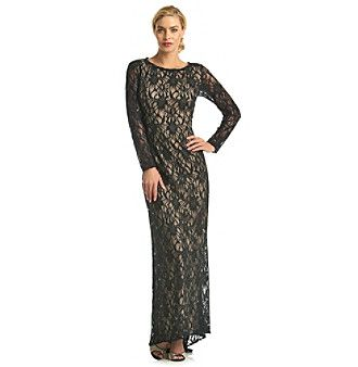 Mother Of The Bride Dress Nw Collections Long Lace Gown Available At Bon Ton