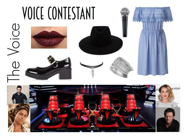 """The voice"" by joanarita-azul ❤ liked on Polyvore featuring Miss Selfridge, River Island, rag & bone, LASplash, thevoice and YahooView"