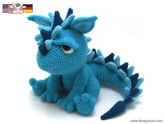 Spikey - amigurumi crochet pattern