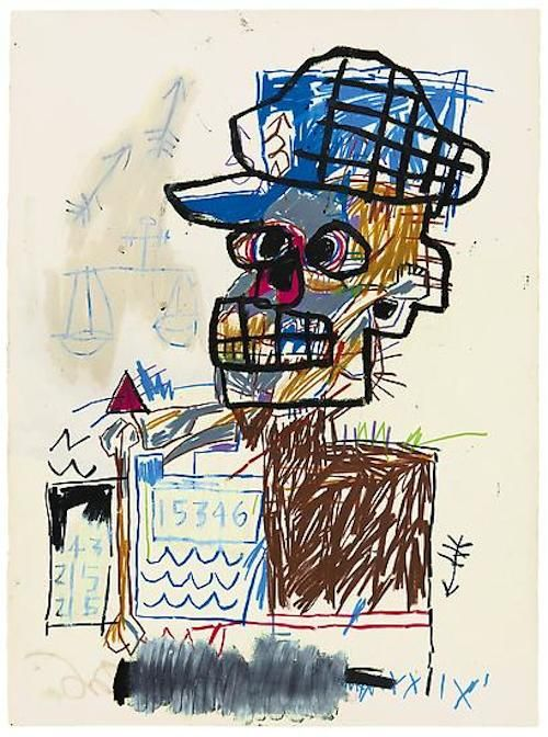 Exposiciones Nueva York - Untitled Scales of Justice 19823Jean-Michel BasquiatMore Pins Like This At FOSTERGINGER @ Pinterest