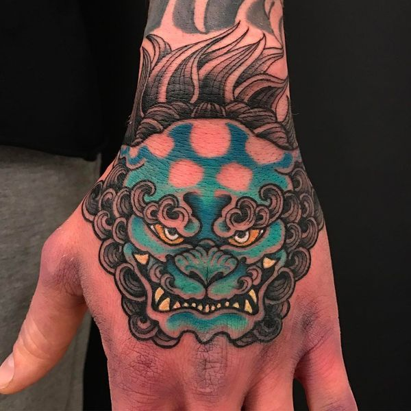 Foo Dog Tattoos Designs - Fu Dog Meaning