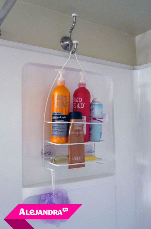 VIDEO]: How to Organize the Shower in Your Bathroom | Pinterest ...