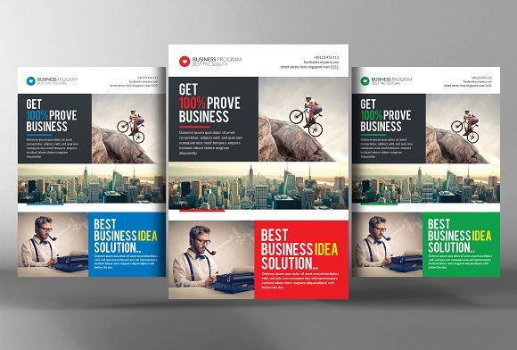 small business consulting flyer by business templates on creativemarket