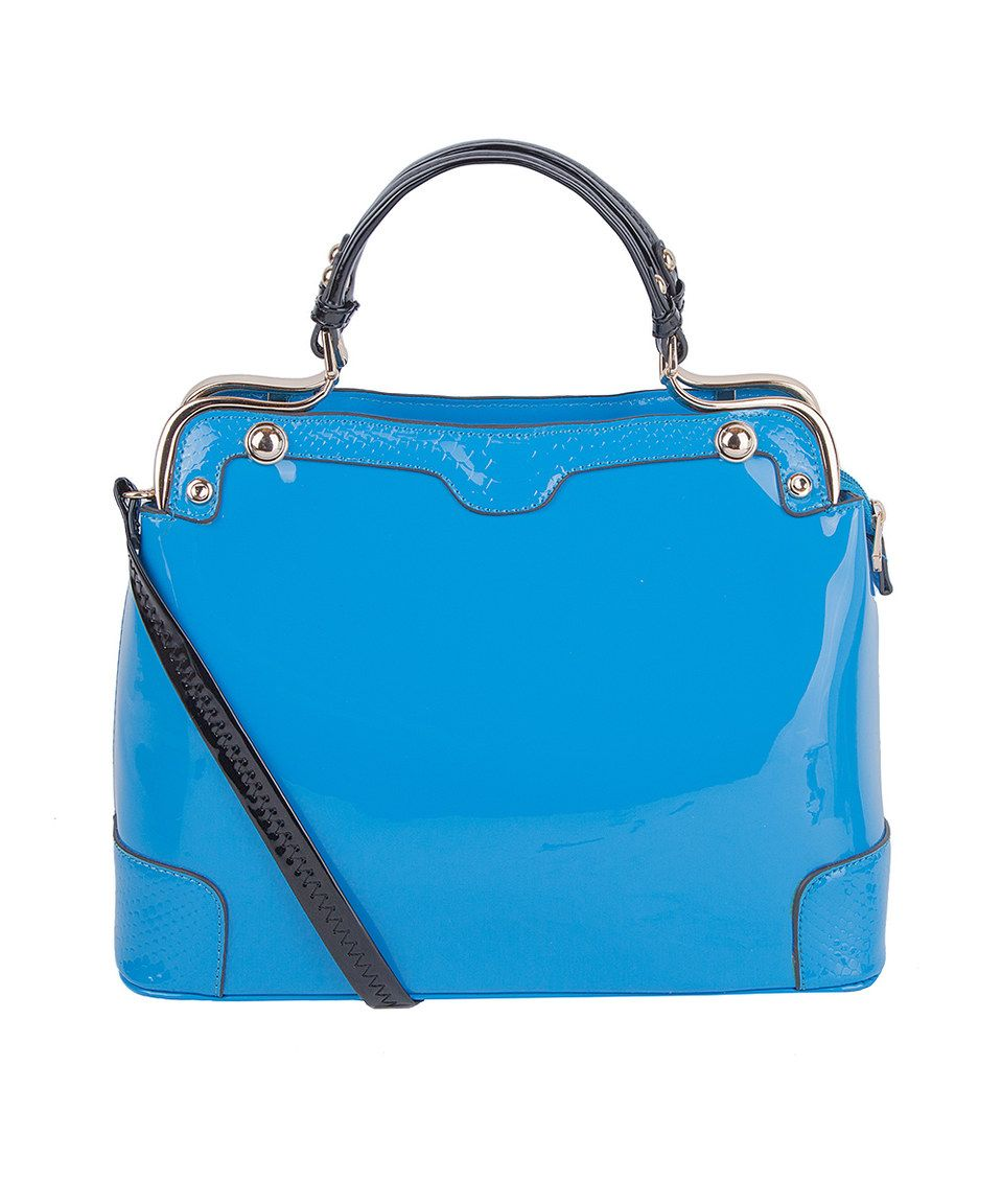 Look what I found on #zulily! MKF Collection Blue Amorous Convertible Satchel by MKF Collection #zulilyfinds