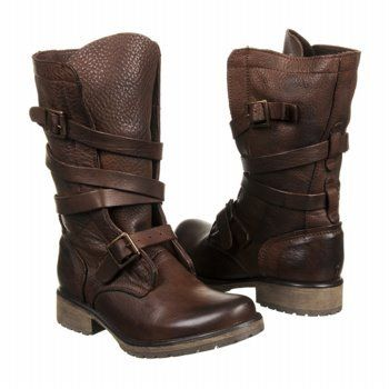 111cf3fa988 Steve Madden Banddit Boots in Brown Leather (worn by Katniss during her  infamous shooting session).
