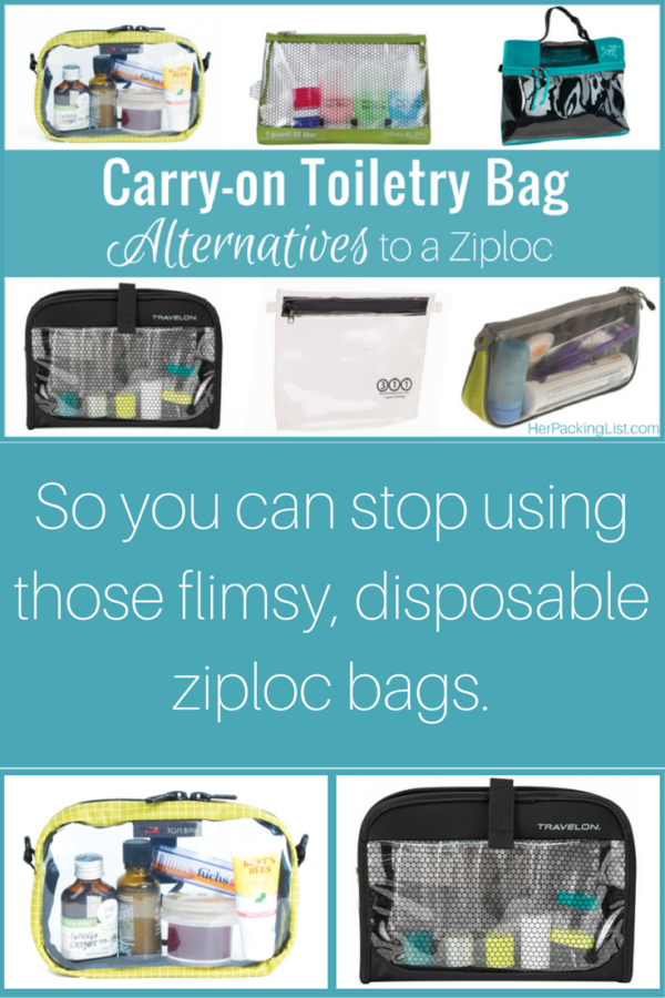 How about a TSA approved liquids bag that s a little more durable than a  ziploc. e20887c18f