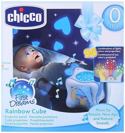 Blue Chicco Rainbow Cube