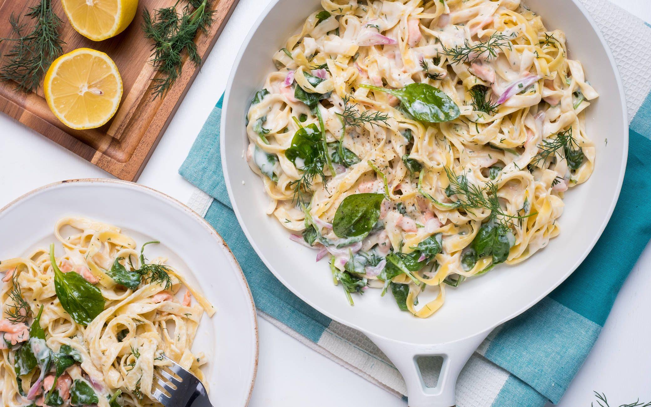 One-Pot Pasta | Recette (avec images) | Saumon fumé, Pates ...