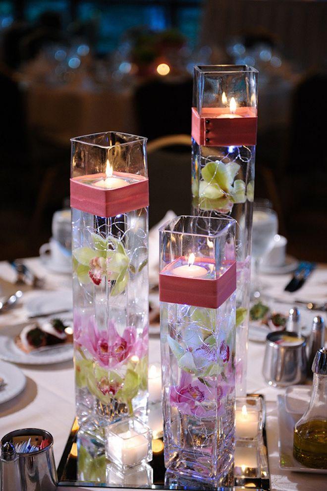 12 Stunning Wedding Centerpieces - Part 16 Bella, Boda y Centros