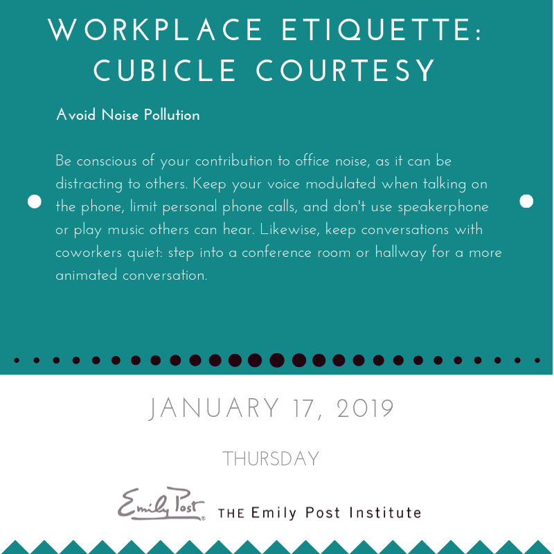 Workplace Etiquette I Chose This Site Due To The Fact That I