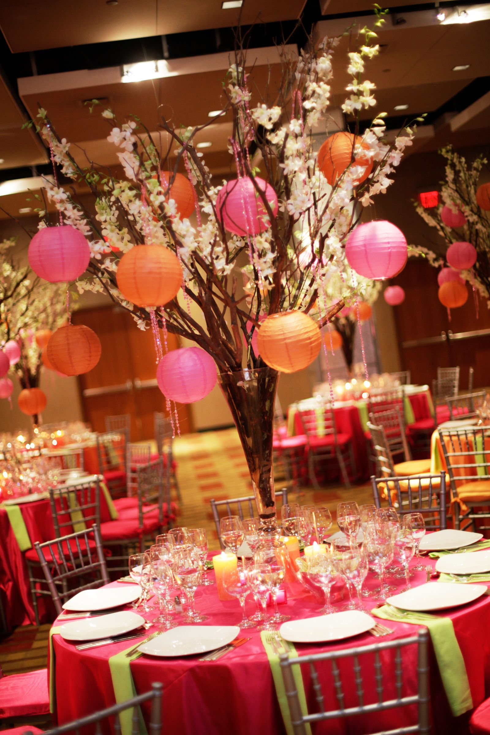 Bar Mitzvah Bat Decor Design Asian Cherry Blossom Tree By Mme Event Productions Mmeink Call Us To Learn How We Can Help You With