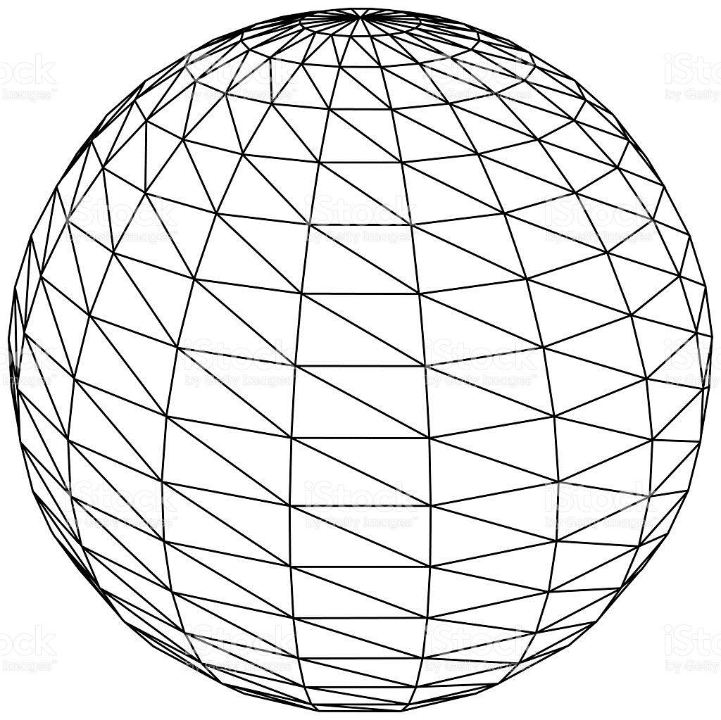 3d sphere, ball or globe - vector | circles | Pinterest | Globe ...