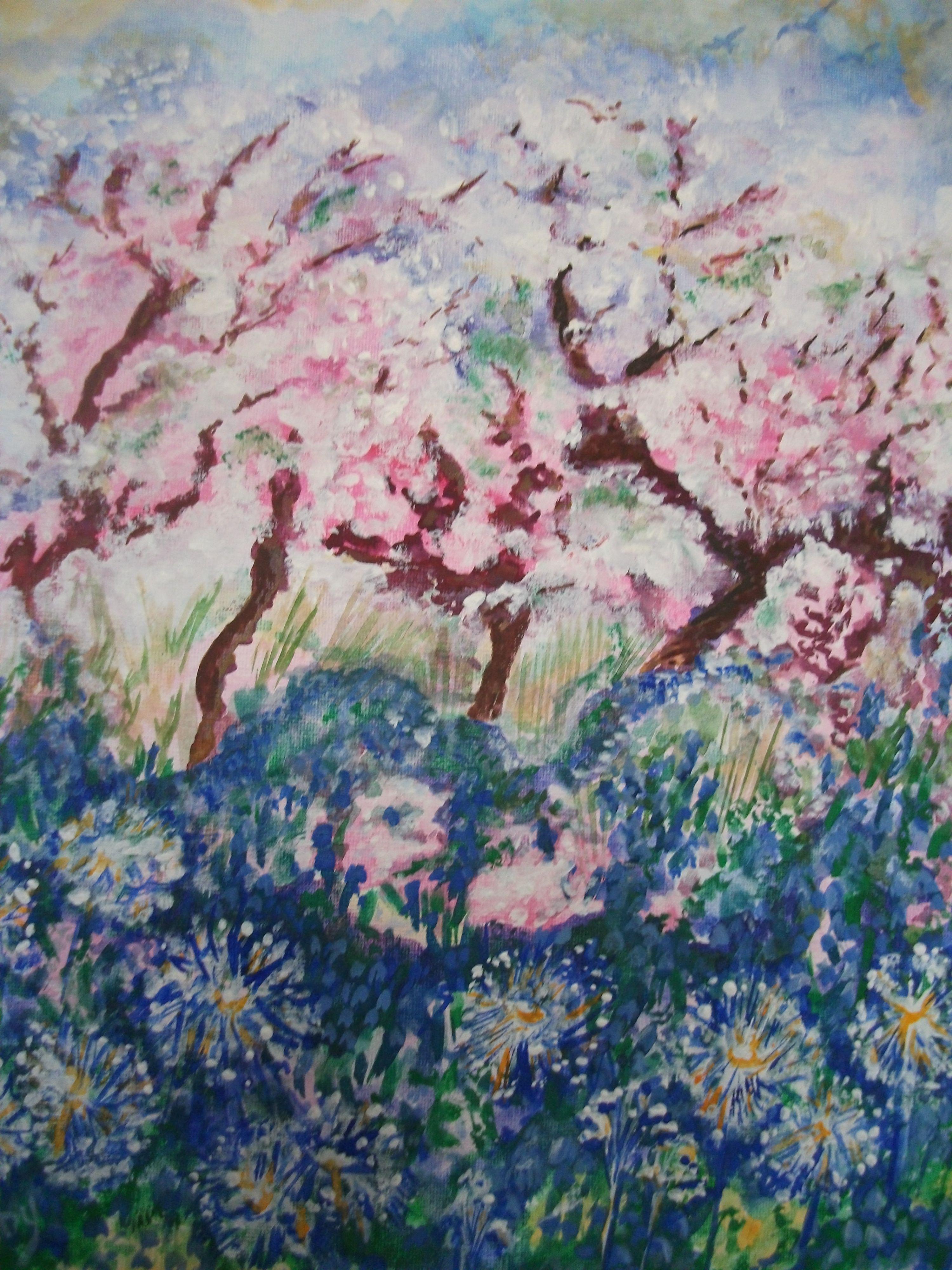 Apple blossom - for Lisa