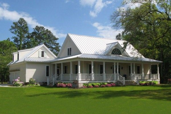 houses with porches all around Cottage house plans southern living